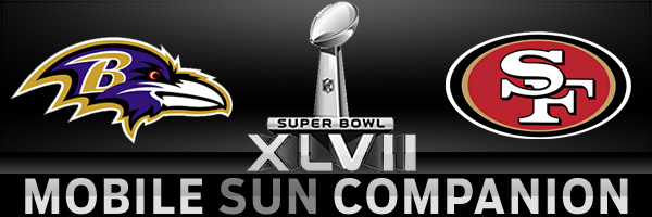 Super Bowl 2013, Baltimore Ravens vs. San Francisco 49ers
