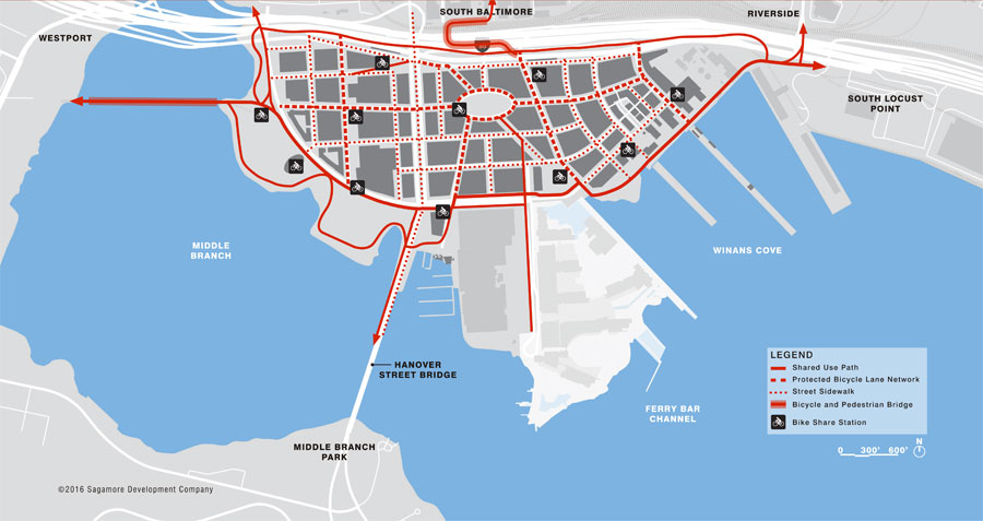 Under Armour Campus Map.The Port Covington Redevelopment Project Examined The Baltimore Sun