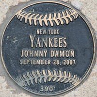Plaque Johnny%20Damon